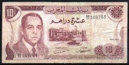 506-Maroc Billet De 10 Dirhams 1970 BB69 - Maroc