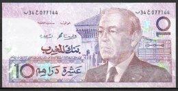462-Maroc Billet De 10 Dirhams 1987 34-077 - Marocco
