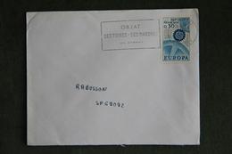 Lettre De FRANCE (OBJAT), Cat CERES : N°1521 - Marcophilie (Lettres)