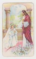 Image Pieuse Souvenir Communion Solennelle En L'Eglise Sainte-Jeanne-de-Chantal à Sucy En 1956 - Religion & Esotérisme