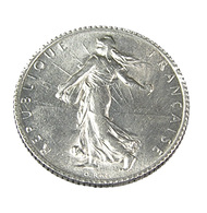 1 Franc - Semeuse  - France - 1915 - Sup - Argent - - H. 1 Franc