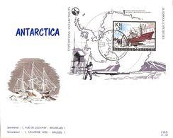 Antarctica FDC , Base Baudoin - FDC