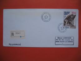 TAAF Lettre Martin De Vivies - St Paul -AMS   Pour La France N° PA48  Du 20/12/1977 Recommandé - French Southern And Antarctic Territories (TAAF)