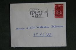 Lettre De FRANCE ( DIJON), Cat CERES : N°1491 - Marcophilie (Lettres)