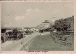 VENDO N.1 CARTOLINA DI CAPEZZANO-PIANORE(LU) PANORAMA,FORMATO GRANDE IN BIANCO E NERO - Lucca