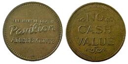 03862 GETTONE JETON TOKEN ARCADE AMUSEMENT CENTER THE MYRTLE BEACH PAVILION - USA