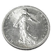 1 Franc - Semeuse  - France - 1919 - Sup - Argent - - H. 1 Franc