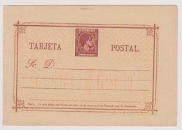 """Tarjeta Postal - Sr. D. (Entier Postal Avec Timbre Imprimé """"CUBA 1879 - 25 Cs PESETA"""") - Cuba"""