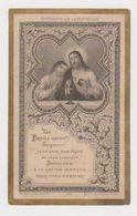 Image Pieuse Souvenir De Communion Faite En L'Eglise Notre-Dame D'Auteuil En 1887 - Religion & Esotérisme