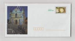 """France : Lot De 4 Enveloppes PAP   """"Lettre Verte  - La Vienne : Le Futur Au Cœur De L'histoire - POITIERS"""" - Prêts-à-poster:  Autres (1995-...)"""