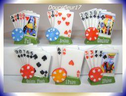 Poker Mania ..Lot De 6  ..Ref AFF: 37-2009...(pan 0025) - Fèves
