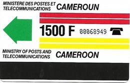 @+ Cameroun - 1500F Old Logo - Ref : CAM-04 - Cameroon