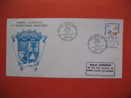 TAAF Lettre Dumont - D'urville - T. Adélie   Pour La France N° 73  Du  24/12/1977 - French Southern And Antarctic Territories (TAAF)