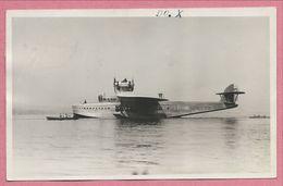 Hydravion - Carte Photo - Foto - Photographe BAUMGARTNER - St GALLEN - Suisse - Cachet RHEINECK - 1919-1938: Fra Le Due Guerre