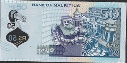 MAURITIUS P65 50 RUPEES 2013 Different Printer ( OT ) UNC. - Maurice