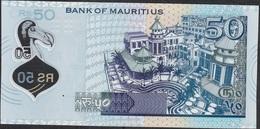 MAURITIUS NLP 50 RUPEES 2013 Different Printer ( OT ) UNC. - Mauritius