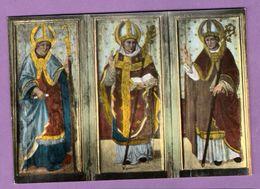 Callas Eglise Trois Eveques Peinture Sur Bois - Retable De Mimault - Le Lot De 2 Cartes - Callas