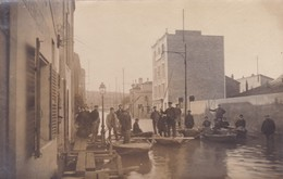 92 / CARTE PHOTO / BILLANCOURT INONDATIONS 1910 / - Boulogne Billancourt