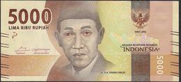 INDONESIA P156a 5000 RUPIAH 2016 #EAU , ISSUE 2016  UNC. - Indonesien
