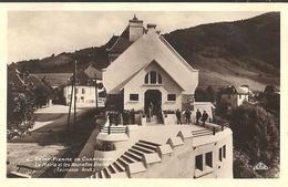 Saint Pierre De Chartreuse La Mairie Et Les Nouvelles Ecoles - Autres Communes