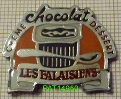LES FALAISIENS  CREME DESSERT CHOCOLAT  PRODUITS LAITIERS - Food