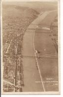 WIEN -  DONAU MIT KAHLENBERG - B/N  VIAGGIATA  1922 - CREMONA  ITALIA - Vienne