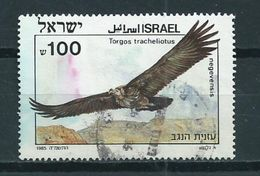 1985 Israel Birds Of Prey,vögel Used/gebruikt/oblitere - Israël