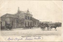 28  Nogent Le Retrou  La Gare De L'Ouest  1903 - Gares - Sans Trains