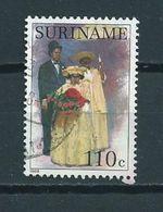 1988 Suriname 110 Cent Costumes Used/gebruikt/oblitere - Suriname
