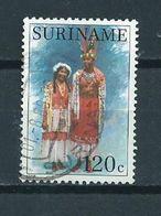 1988 Suriname 120 Cent Costumes Used/gebruikt/oblitere - Suriname