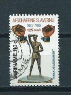 1988 Suriname 110 Cent Afschaffing Van De Slavernij Used/gebruikt/oblitere - Suriname