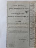 Logements Economiques De SAINT ETIENNE 1899 - Azioni & Titoli