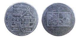 01264 GETTONE JETON TOKEN AUSTRIA COMMEMORATIVE 100 JAHRE SCHULE SILBERBERG - Tokens & Medals