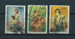 1990 Suriname Complete Set Javaanse Immigratie Used/gebruikt/oblitere - Suriname