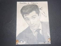 AUTOGRAPHE - Carte Photo Dédicacée De Marcel Amont - L 12500 - Autografi
