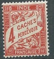 Inde - Taxe - Yvert N° 12 *   Abc254 23 - India (1892-1954)