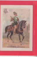 CHROMO /ANGOULET XVI SIECLE/ MILITARIA / DESCRIPTION HISTORIQUE /  A TRAVERS LE TEMPS  / SERIE H.C./ - Cromo