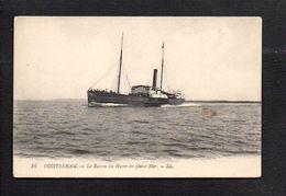 """14 Ouistreham / Bateau """"L'Hirondelle""""  / Le Bateau Du Havre En Pleine Mer - Ouistreham"""