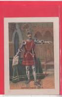 CHROMO /CONNETABLE 1510/ MILITARIA / DESCRIPTION HISTORIQUE /  A TRAVERS LE TEMPS  / SERIE H.C./ - Cromo