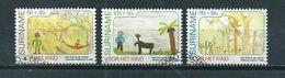1990 Suriname Complete Set Child Welfare Used/gebruikt/oblitere - Suriname