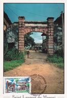 Carte-Maximum FRANCE N° Yvert 3048 (GUYANE- SAINT LAURENT) Obl Sp Ill 1er Jour (Ed Acodis) - Maximum Cards