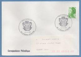 CAD Philatélie St Denis Principal 1985 / N° 2321 Roulette Liberté Voy TB - Postmark Collection (Covers)
