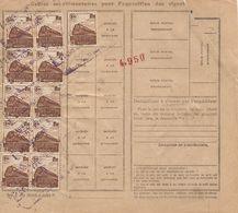 Bulletin D'expédition N° 260179 Avec Timbre(s) N° :  202 Et 187 X 11 - FX - Covers & Documents