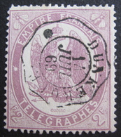 Lot FD/170 - 1868 - TIMBRE TELEGRAPHE - N°8 - CàD : DUNKERQUE 14 JUILLET 1869 - Telegraph And Telephone