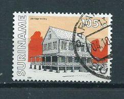 1991 Suriname 105 Cent Buildings,gebouwen Used/gebruikt/oblitere - Suriname