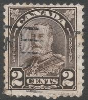 Canada. 1930-31 KGV. 2c Brown Die II Used SG292b - Used Stamps