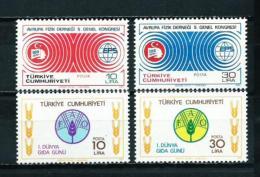 Turquía  Nº Yvert  2338/9-2340/1  En Nuevo - 1921-... Republic