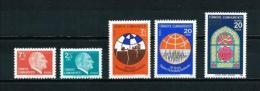 Turquía  Nº Yvert  2287/8-2289/90-2293  En Nuevo - 1921-... Republic