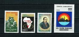 Turquía  Nº Yvert  2125-2129-2153-2154  En Nuevo - 1921-... Republic
