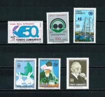 Turquía  Nº Yvert  2059-2065-2076-2078/9-2088  En Nuevo - 1921-... Republic